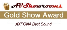 AXPONA 2017 Gold Award